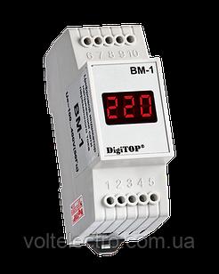 DigiTOP Вольтметр на DIN-рейку 1Ф BM-1