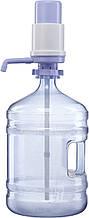 Бутыль с помпой механической А1 на 19 л-поликарбонат с ручкой