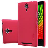 Чохол Nillkin для Lenovo P90 червоний (+плівка), фото 1