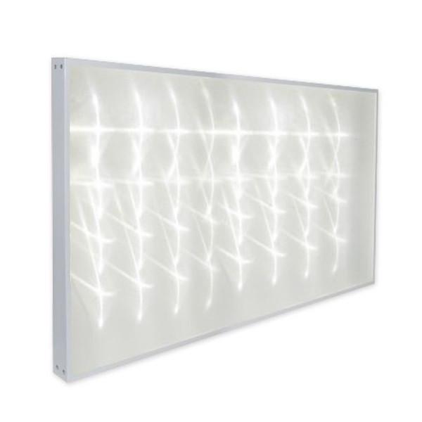 На фото изображена светодиодная ЛЕД панель 300х600 с точечным засветом рассеивателя (светящейся поверхности)