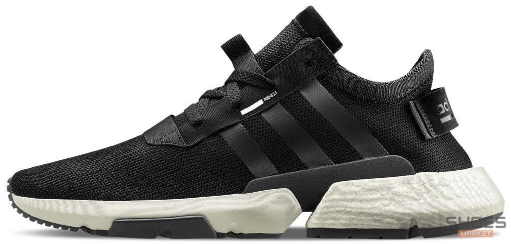 Женские кроссовки Adidas Originals POD-S3.1 Core Black Cloud White B37366, Адидас ПОД-С3.1
