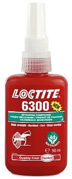Фиксатор вал-втулочный высокопрочный Loctite 6300 H&S, 50 мл