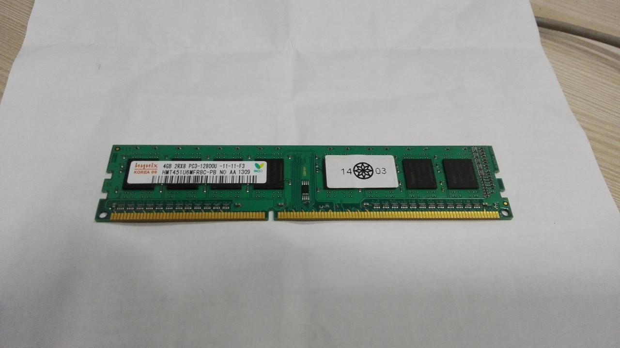 Оперативна пам'ять Hynix DDR3 4GB 1600 Мгц PC3-12800 для комп'ютера
