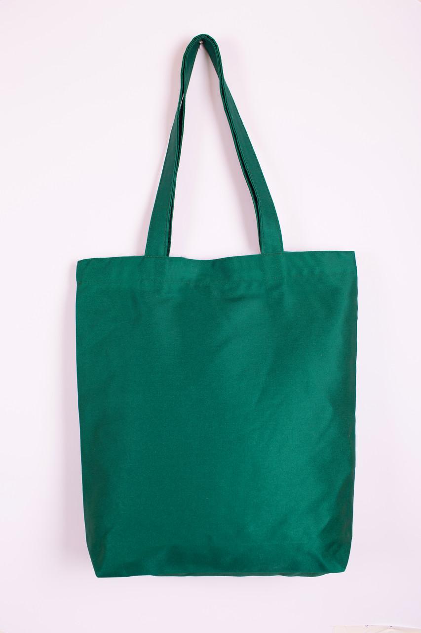 Сумка из  саржи Eurotorba, размер 27*40 см Зелёный