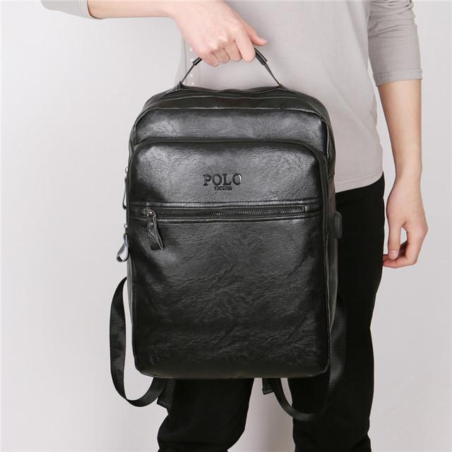 Рюкзак городской для ноутбука Polo Vicuna V5513 черный