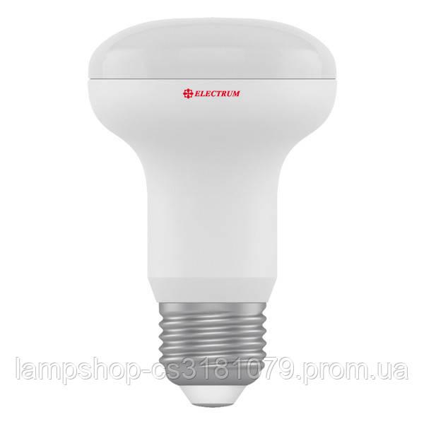 Лампа светодиодная рефлекторная R63 LR-10 8W E27 3000K алюмопл. корп. A-LR-1184