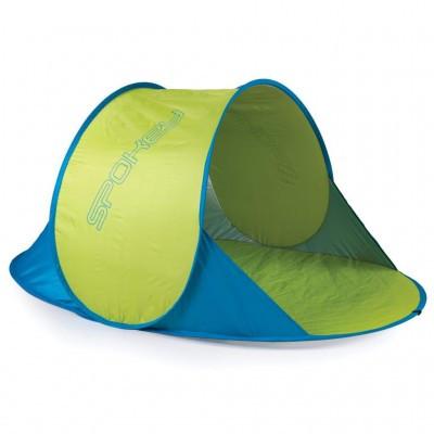 Палатка пляжная Spokey Nimbus 839624 желто-голубая