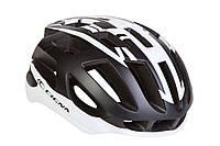 Шолом велосипедний СIGNA TT-4 L (58-61см) (чорно-білий)