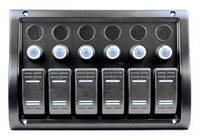Панель на 6 переключателя (1 под сигнал)