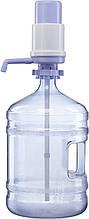 Бутель з механічною помпою А25 на 19 л-полікарбонат з ручкою