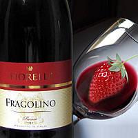 Вино красное игристое Fragolino Fiorelli Rosso Фраголино Фиорелли Россо 750мл
