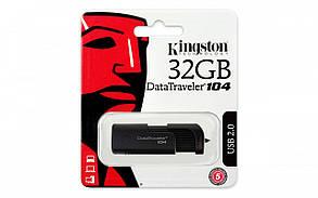 ФЛЕШ ПАМЯТЬ (флешка) Kingston DataTraveller 104 32 ГБ (DT104/32GB), фото 2