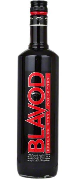 Водка Blavod Black (Блавуд Блек) 40%, 1 литр