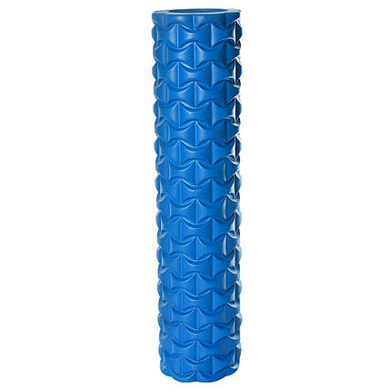 Массажный валик (ролик) для йоги (50х12 см) - MS 2512, фото 2
