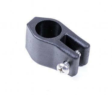 Деталь для тента прох. пластик черный диаметр 22мм