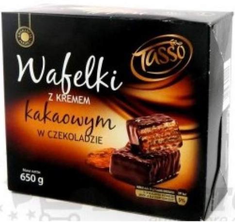 Вафли Tasso Wafelki с кремом 650 г