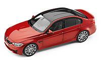 Оригинальная модель автомобиля BMW M3 Competition (F80), Scale 1:18, Sakhir Orange (80432411553)