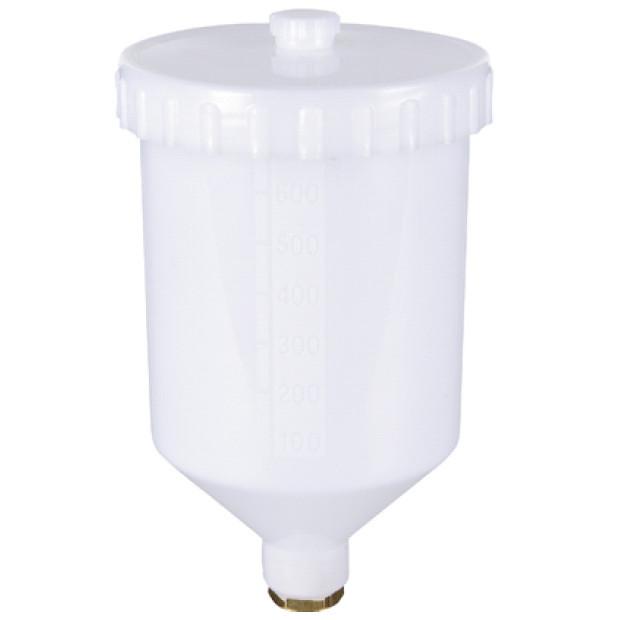 Бачок пластиковый (внутренняя резьба) 600 мл  AUARITA   PC-600GPP
