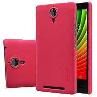 Чохол Nillkin для Lenovo K80 червоний (+плівка), фото 1