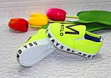 Детские модные мокасины/кеды/слипоны для деток, фото 2
