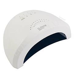 SUN ONE лампа для маникюра и педикюра профессиональная UV LED 48W