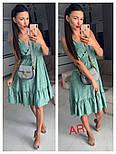 Женский летний сарафан с узором (в расцветках), фото 2
