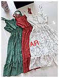 Женский летний сарафан с узором (в расцветках), фото 3