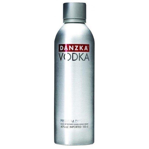 Водка Danzka Red (Данзка Ред) 40%, 1 литр