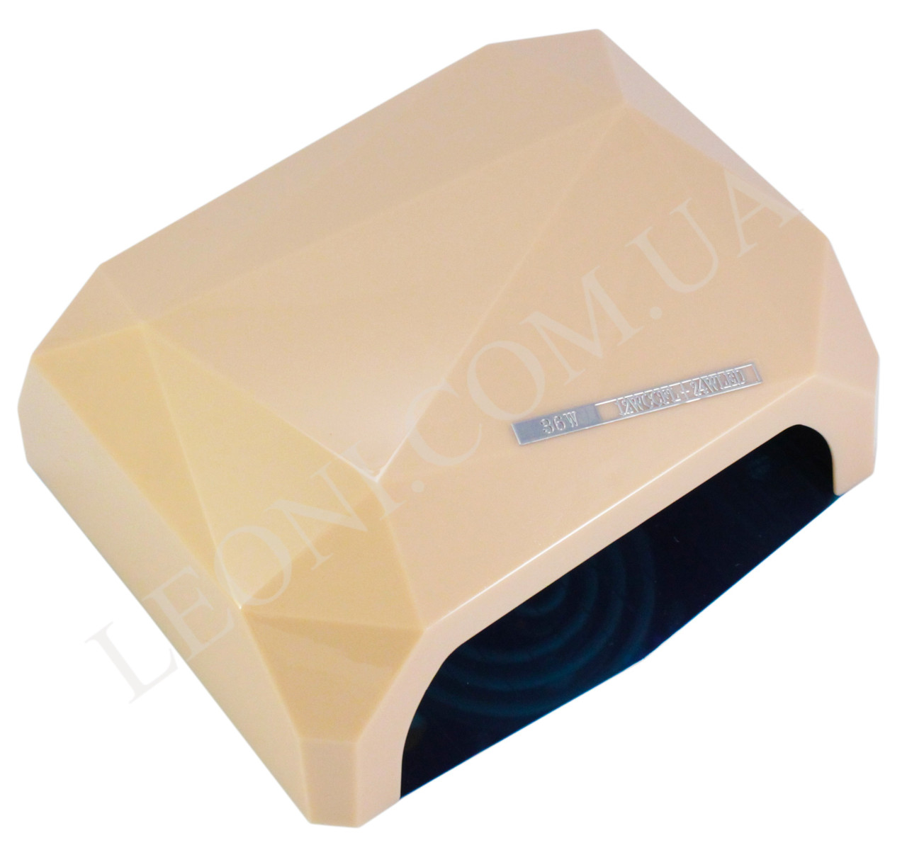 Лампа для маникюра и педикюра комбинированная Led+CCFL Diamond 36W (Бежевая)