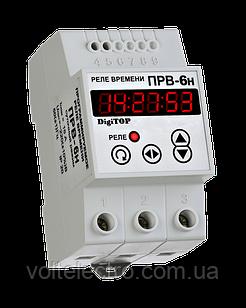 DigiTOP Програмоване реле часу на DIN-рейку 24А PB-6Н  (добовий режим)