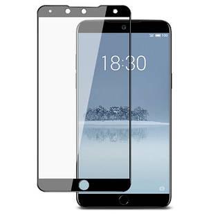 Защитное стекло Full Cover Meizu 15 Plus Black, фото 2
