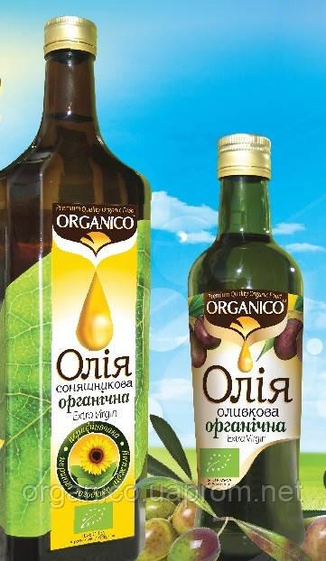 """Растительные масла холодного отжима """"ORGANICO"""""""
