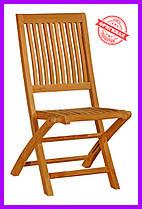 Тиковый стул раскладной Time Eco TE-05T