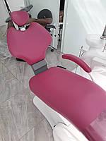 Перетяжка стоматологического кресла мед. кожзамом