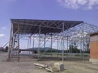 Строительство ангаров и складов.Изготовление и монтаж металлоконструкций.Сварочные работы.
