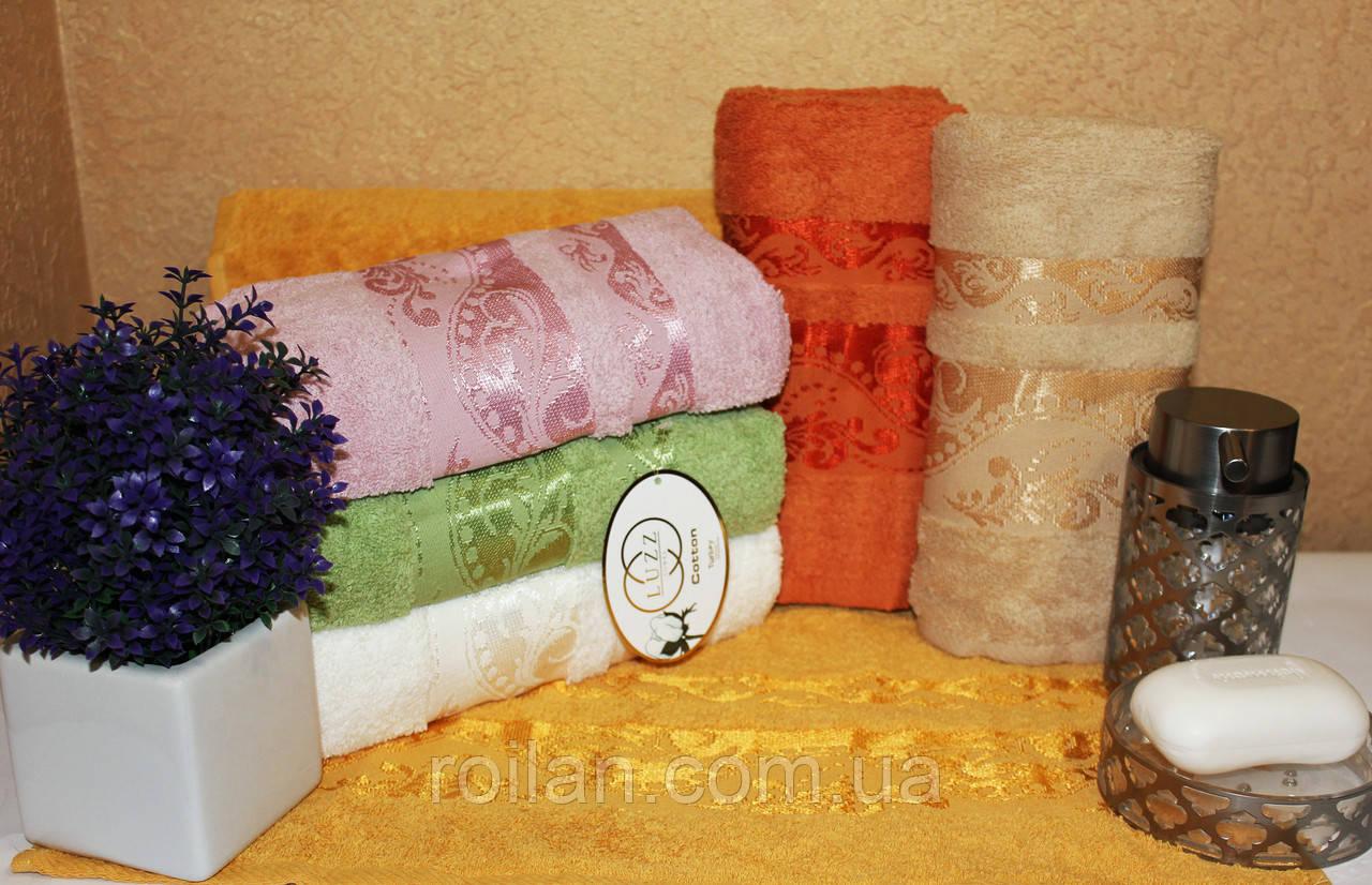 Банныетурецкие полотенца Luzz Leylak