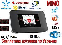 3G 4G WiFi роутер Netgear Jetpack AC791L CDMA (Rev.B ) Интертелеком, Киевстар, Vodafone, Lifecell с 2 вых.ант.