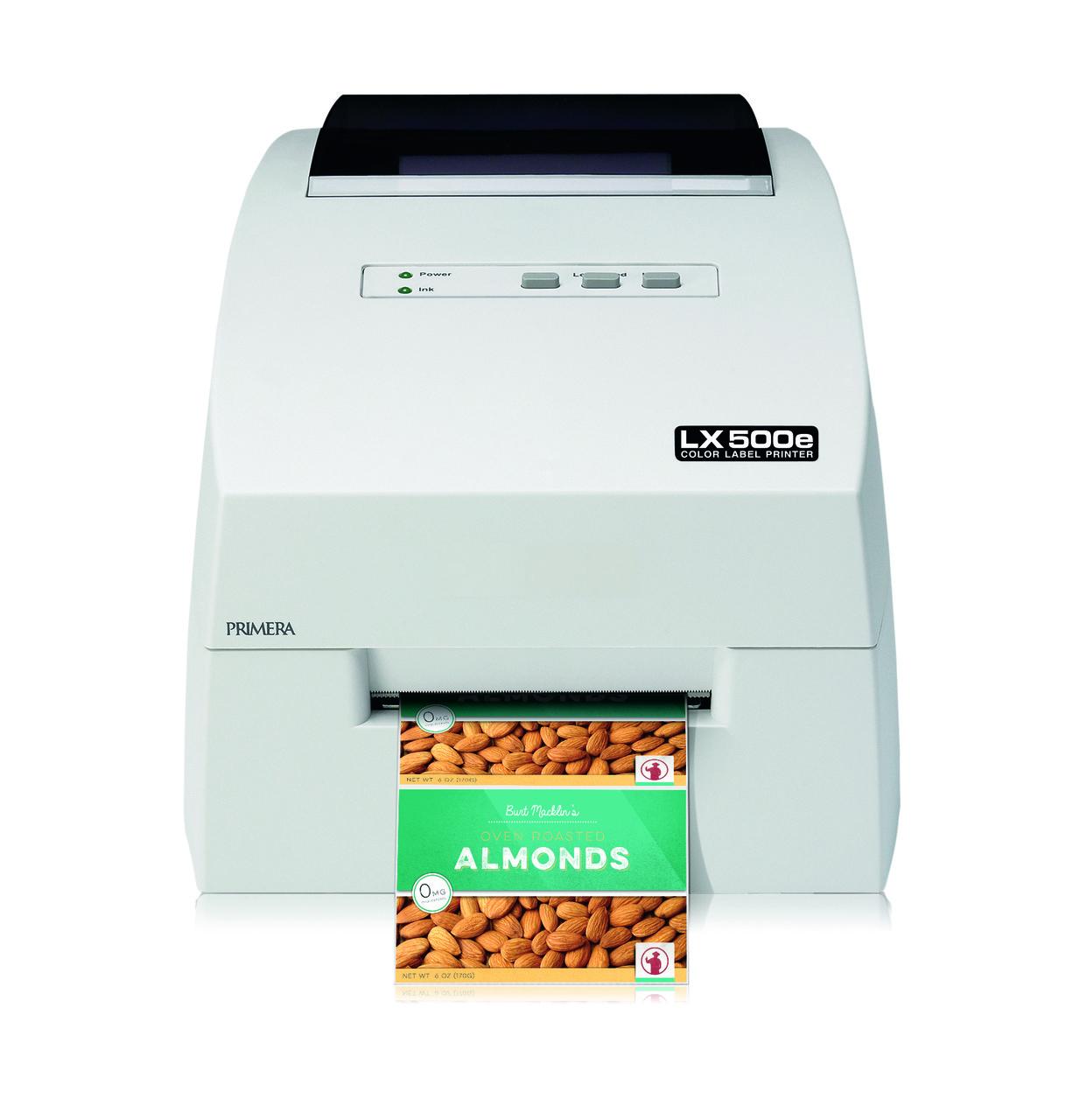 Принтер кольорових етикеток Primera LX500e