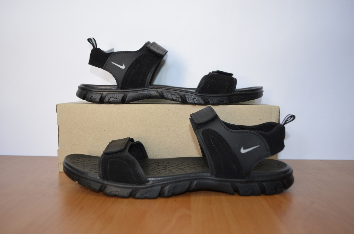1762997d Сандаль мужские Nike.Кожаные сандалии .Босоножки мужские.Реплика ...
