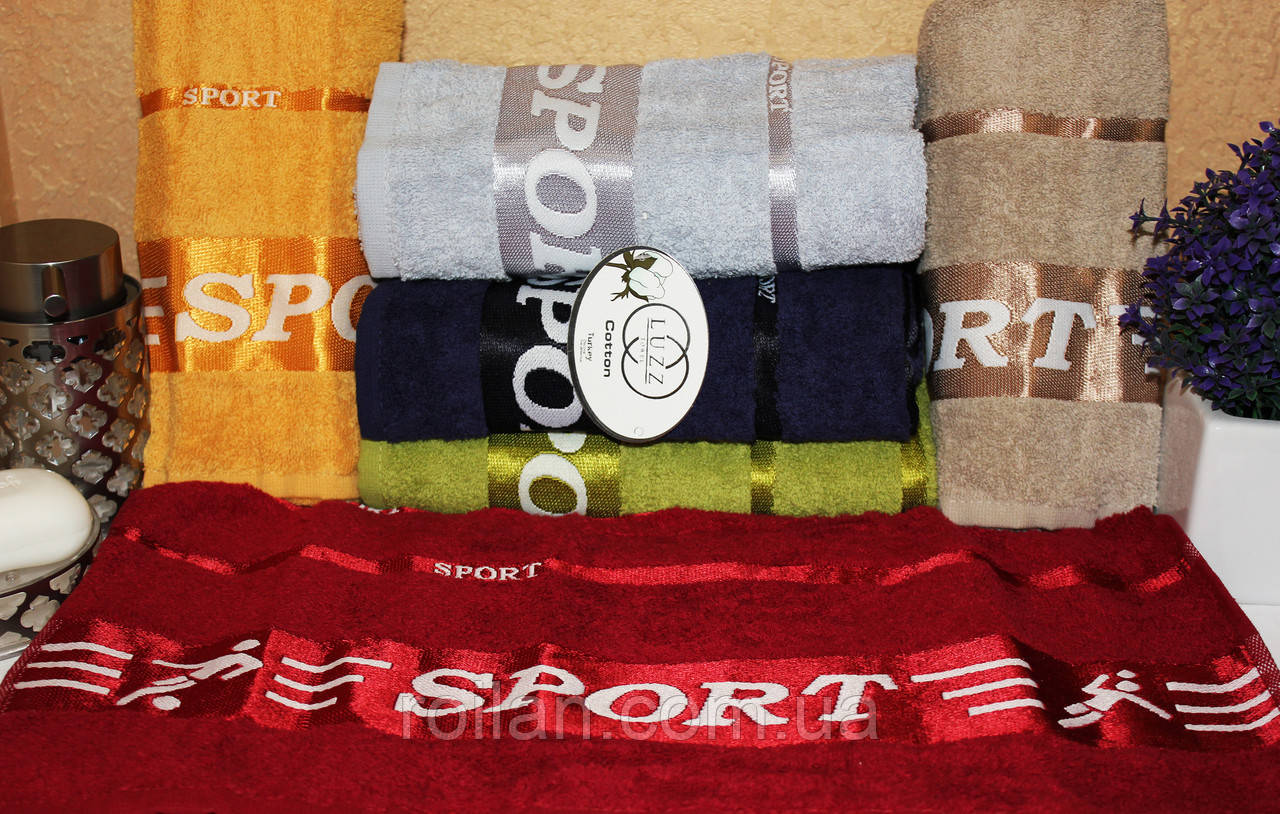 Банныетурецкие полотенца Luzz Sport