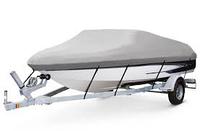 Чехол на катер 1.6х3.8м серый