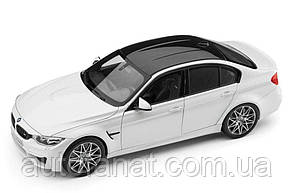 Оригинальная модель автомобиля BMW M3 Competition (F80), Scale 1:18, Mineral White Metallic (80432411552)