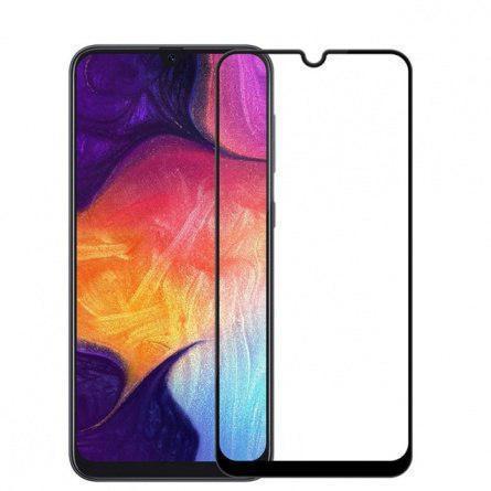 Защитное стекло Full Screen Nano Samsung A40 black