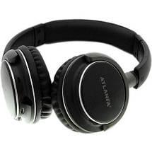 Беспроводные наушники с микрофоном ATLANFA AT-7612 с Bluetooth, MP3 и FM, гарнитура для телефона, ПК, фото 3
