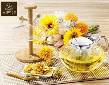 Заварочный чайник с фильтром Wilmax Thermo 1100 мл WL-888805