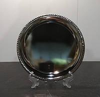 Оригинальная металлическая тарелка с металлической перламутровой вставкой для печати D25 для сублимационного п