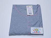 Ночная рубашка для кормления 44 размер серая