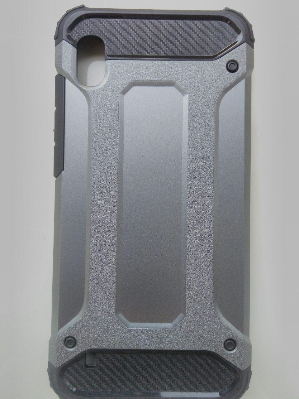 Чехол трансформер  противоударный Samsung A10 2019 ( серый)