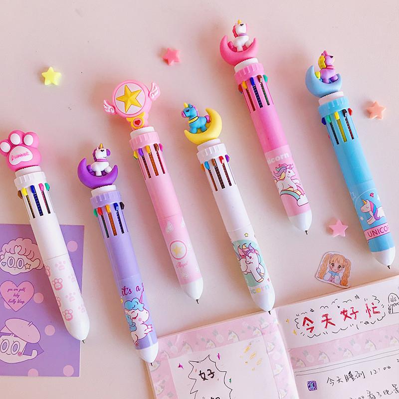 Яркие ручки на 10 цветов