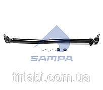 Продольная рулевая тяга Mercedes Actros (L: 888 mm)